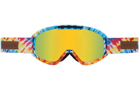Dragon - DX2 Tie Dye / Gold Ion + Yellow Red Ion Goggles