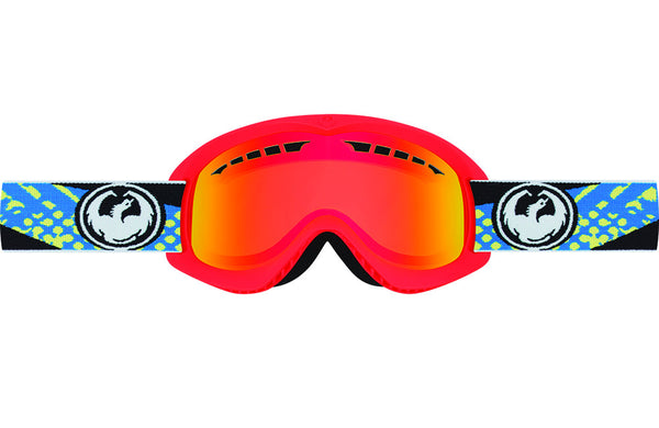 Dragon - DX Future / Yellow Red Ion Goggles