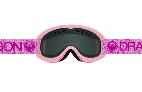 Dragon - DX Pink / Smoke Goggles