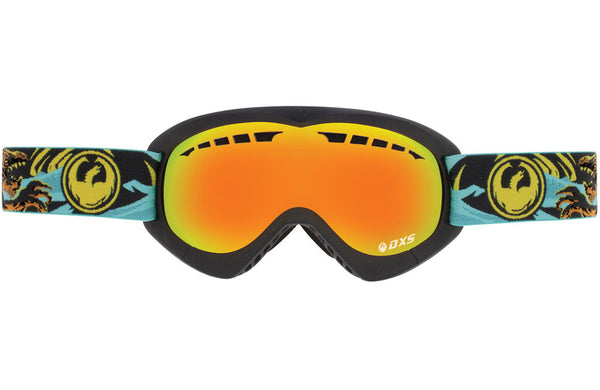 Dragon - DXs Akhlut / Yellow Red Ion Goggles