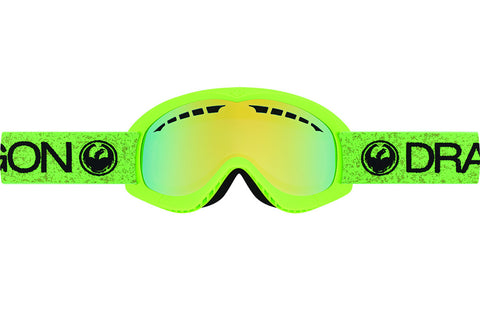 Dragon - DXs Green / Smoke Gold Ion Goggles