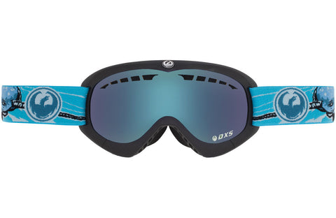Dragon - DXs Narwhale / Yellow Blue Ion Goggles