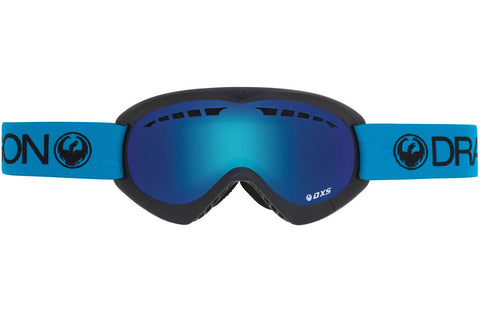 Dragon - DXs Royal / Blue Steel Goggles