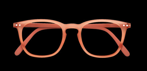 Izipizi - #E Warm Orange Reader Eyeglasses / +1.00 Lenses