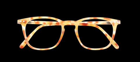 Izipizi - #E Yellow Tortoise Reader Eyeglasses / +2.50 Lenses