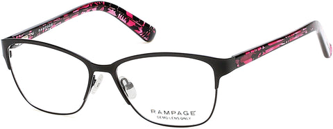 Rampage - RA0199 Black Eyeglasses / Demo Lenses