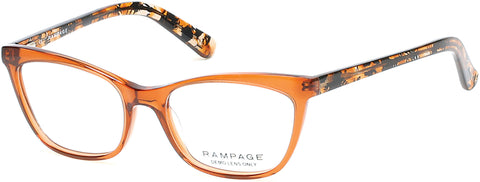 Rampage - RA0198 Light Brown Eyeglasses / Demo Lenses