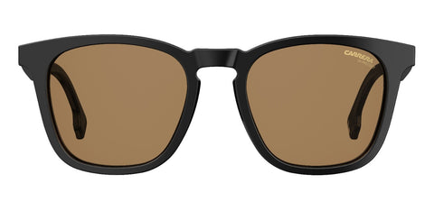 Carrera - 143 Black Sunglasses / Brown Lenses