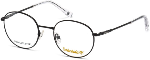 Timberland - TB1606 Matte Black Eyeglasses / Demo Lenses