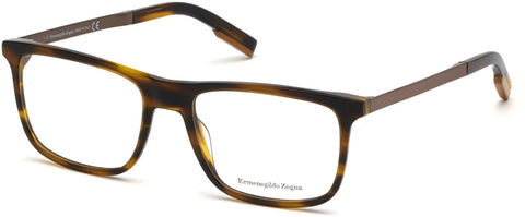 Ermenegildo Zegna - EZ5142 Colored Havana Eyeglasses / Demo Lenses