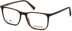 Timberland - TB1608 53mm Dark Havana Eyeglasses / Demo Lenses