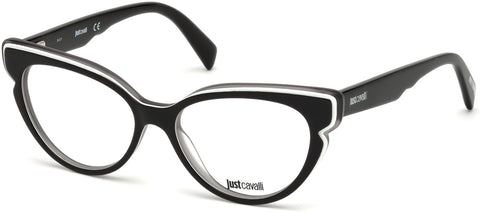 Just Cavalli - JC0818 Black Eyeglasses / Demo Lenses