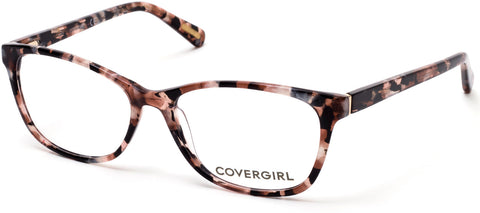 Cover Girl - CG0545 Dark Brown Eyeglasses / Demo Lenses