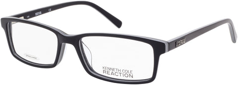 Kenneth Cole - KC0749 54mm Black + White Eyeglasses / Demo Lenses