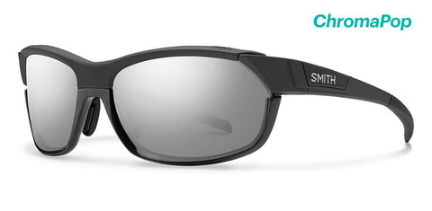 Smith - Pivlock Overdrive Matte Black Sunglasses / ChromaPop Platinum Lenses