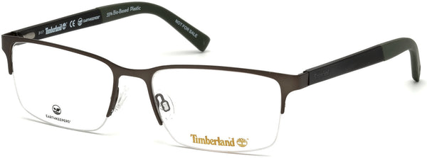 Timberland - TB1585 54mm Matte Dark Green Eyeglasses / Demo Lenses