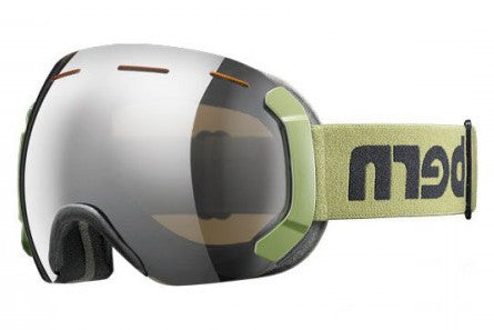 Bern - Eastwood Army Goggles, Gold Light Mirror Lenses