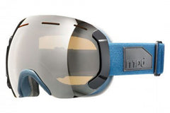 Bern - Eastwood Muted Teal Goggles, Gold Light Mirror Lenses
