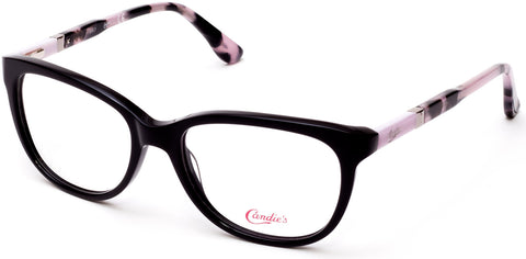 Candie's - CA0508 51mm Shiny Black Eyeglasses / Demo Lenses