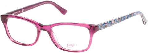 Candie's - CA0504 51mm Lilac Eyeglasses / Demo Lenses