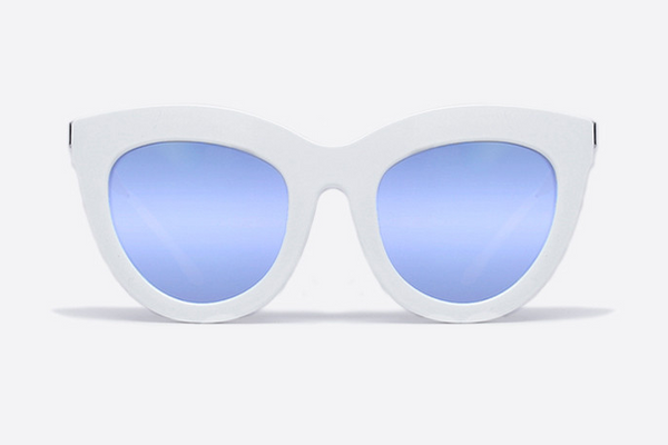 Quay Eclipse White / Lilac Sunglasses