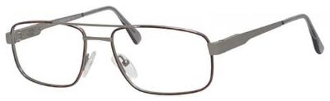 Elasta - E 3070 56mm Antique Havana Eyeglasses / Demo Lenses