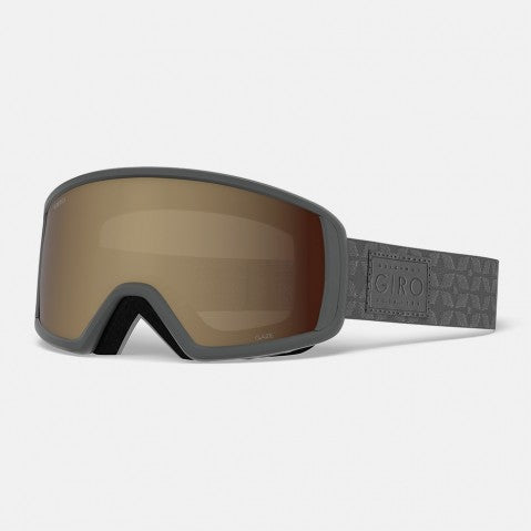 Giro - Gaze Titanium Quilted Snow Goggles / Amber Pink Lenses