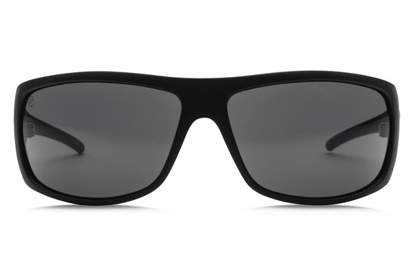 Electric - Charge XL Matte Black Sunglasses, OHM Grey Lenses