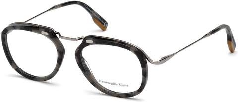 Ermenegildo Zegna - EZ5124 Colored Havana Eyeglasses / Demo Lenses