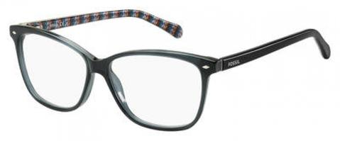 Fossil - Fos 6011 Crystal Gray Eyeglasses / Demo Lenses