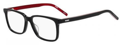HUGO by Hugo Boss - Hg 1010 Black Red Gradient Eyeglasses / Demo Lenses