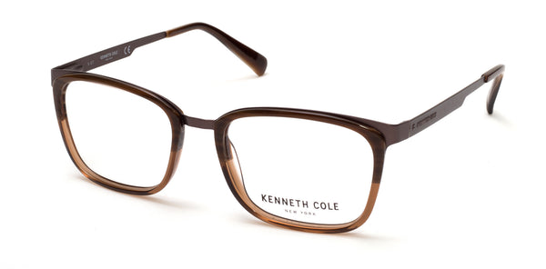 Kenneth Cole - KC0274 Brown Horn Eyeglasses / Demo Lenses