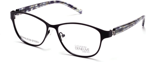 Catherine Deneuve - CD0419 Matte Black Eyeglasses / Demo Lenses