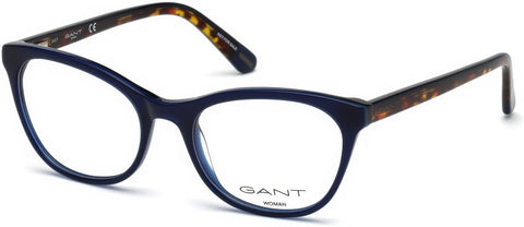 Gant - GA4084 50mm Shiny Blue Eyeglasses / Demo Lenses
