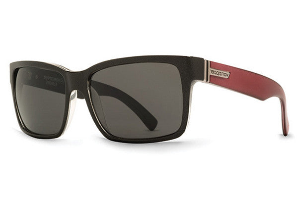 VonZipper - Elmore Hell 2 Red Rock HR2 Sunglasses, Grey Lenses