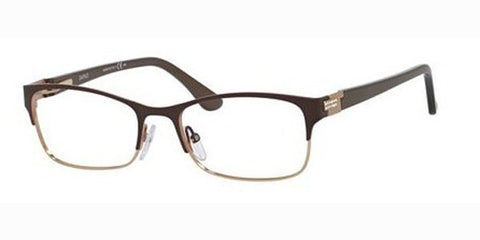 Emozioni - 4376 54mm Black White Gold Grid Eyeglasses / Demo Lenses