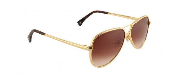Wildfox - Airfox 2 Gold Sunglasses