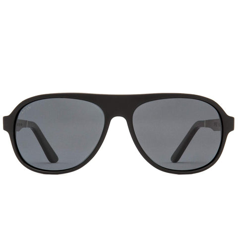 Proof - Wilder Eco Black Sunglasses / Silver Mirror Lenses