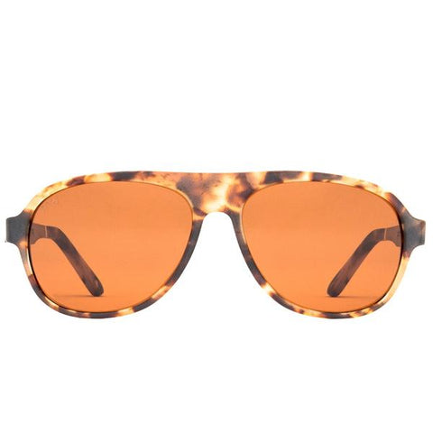 Proof - Ada Eco Matte Maroon Sunglasses / Gold Mirror Polarized Lenses