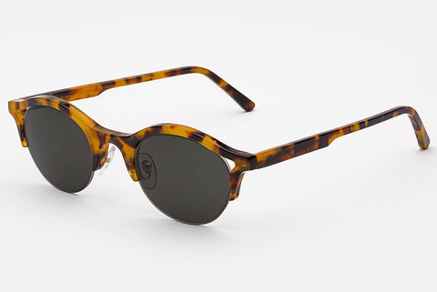 Super - Filo Spotted Havana Sunglasses