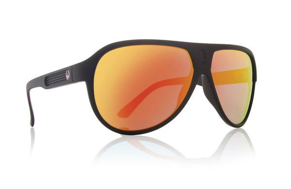 Dragon - Experience II Matte Black / Red Ion Sunglasses