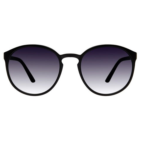 Le Specs - Swizzle Matte Black Sunglasses / Smoke Lenses