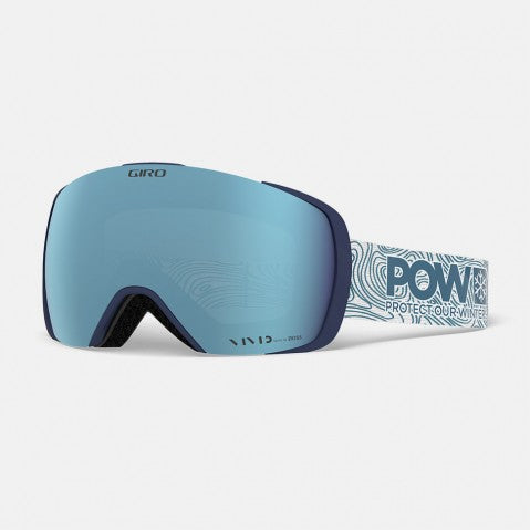 Giro - Contact Protect Our Winters Snow Goggles / Vivid Royal + Vivid Infrared Lenses