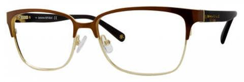 Banana Republic - Paisley 54mm Black White Gold Grid Eyeglasses / Demo Lenses