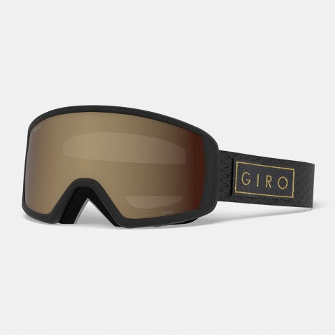 Giro - Gaze Black + Gold Bar Snow Goggles / Rose Spectrum Lenses