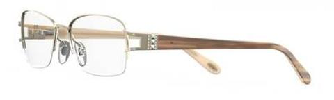 Emozioni - 4388 53mm Light Gold Eyeglasses / Demo Lenses