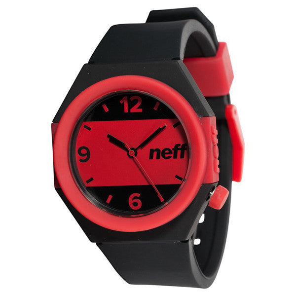 Neff - Stripe Black/Red Watch