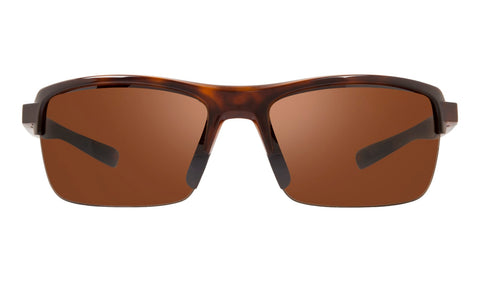 Revo - Crux N 63mm Tortoise Sunglasses / Golf Polarized Lenses