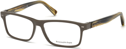 Ermenegildo Zegna - EZ5073 Light Brown Eyeglasses / Demo Lenses