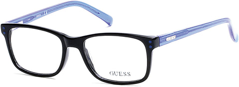 Guess - GU9161 Shiny Black Eyeglasses / Demo Lenses